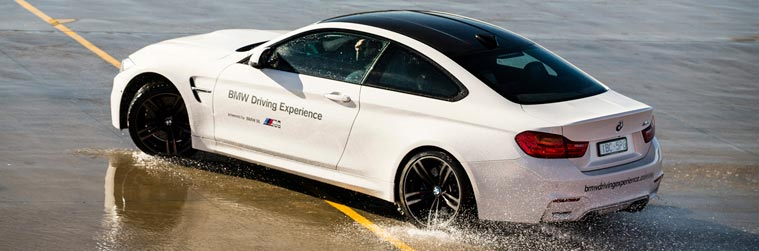 BMW Driving Experience - skid pan training