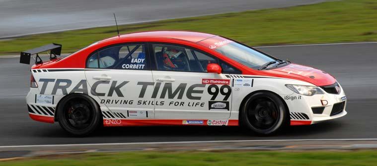 Motorsport racecar driver training